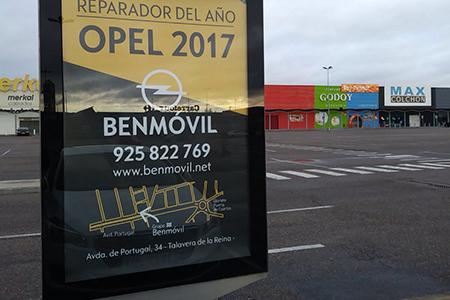 Publicidad Exterior Benmóvil